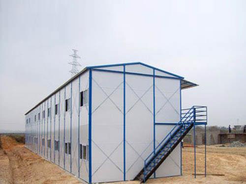 坡顶型活动板房