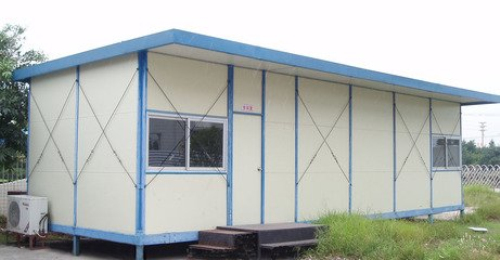 平顶型活动板房